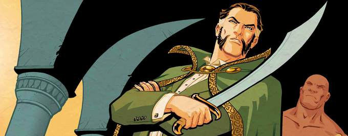 """Arrow"" – Matthew Nable jako Ra's al Ghul!"