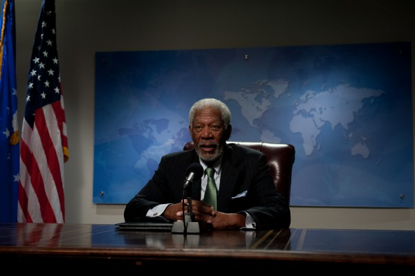 Morgan Freeman zagra polityka Colina Powella
