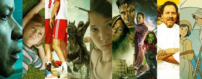 Najlepsze filmy – lipiec, sierpień, wrzesień 2014
