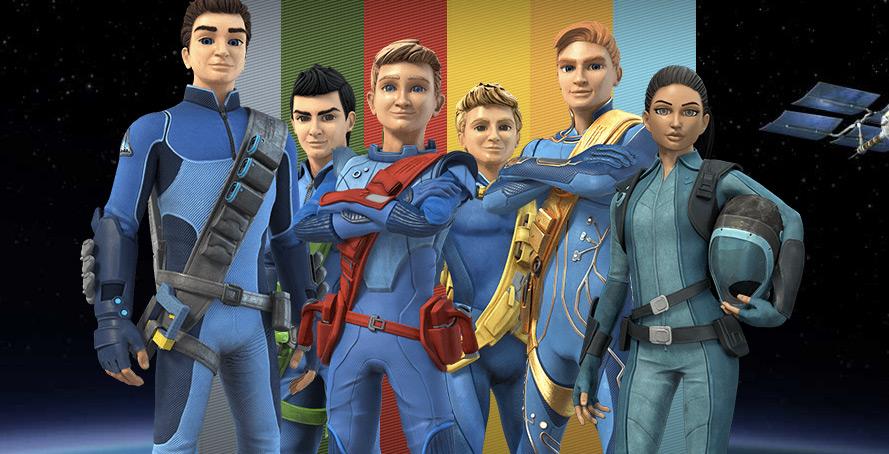 """Widowiskowy zwiastun serialu """"Thunderbirds Are Go!"""" z efektami ekipy od """"Władcy Pierścieni"""""""