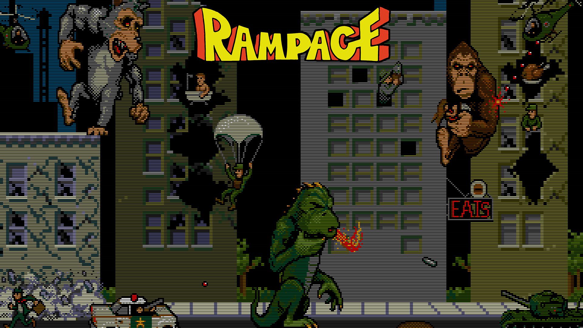 """Dwayne Johnson w filmowej adaptacji gry """"Rampage"""""""