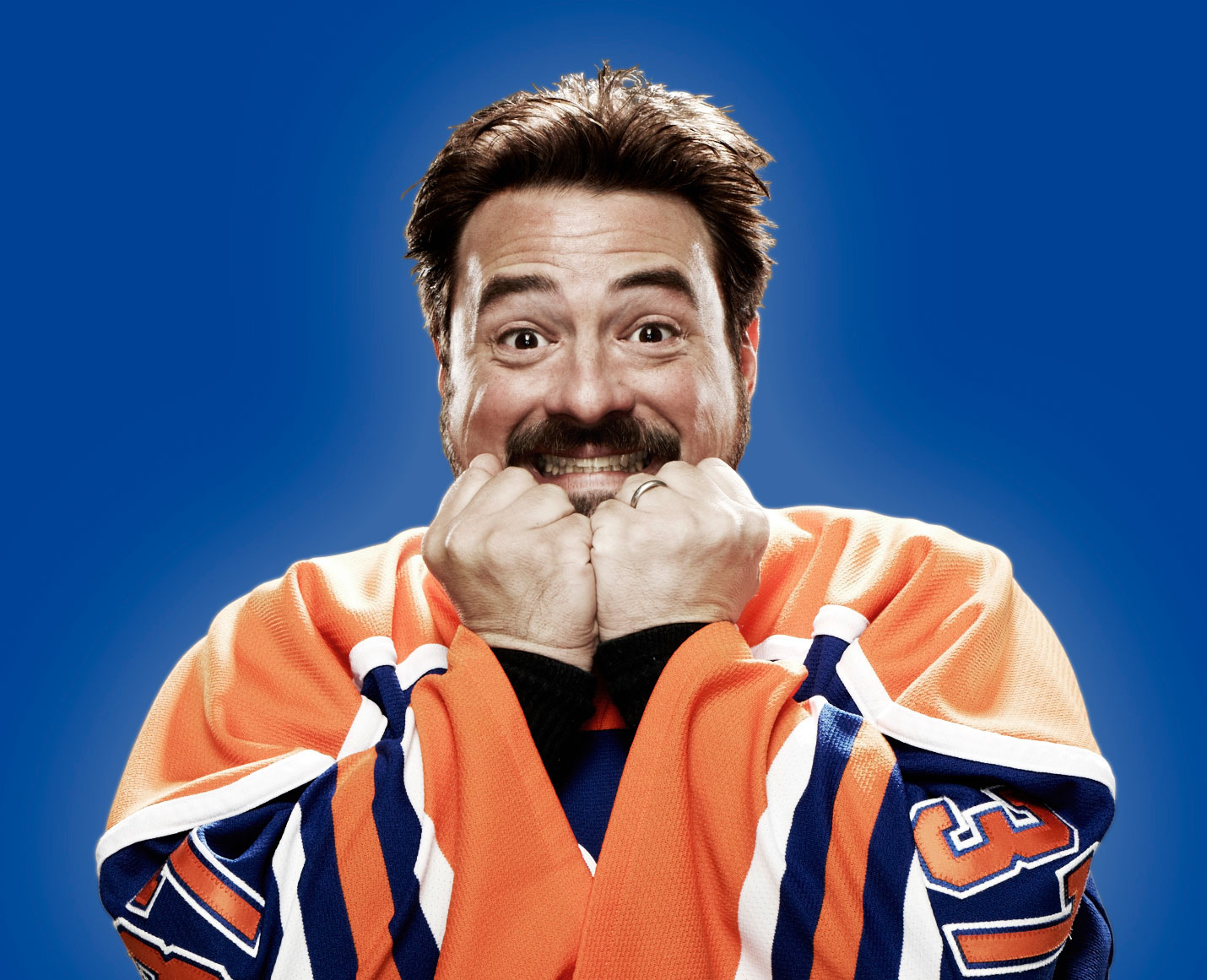 "Kevin Smith nie do poznania. Zdjęcie z filmu ""Yoga Hosers"" (Comic-Con)"