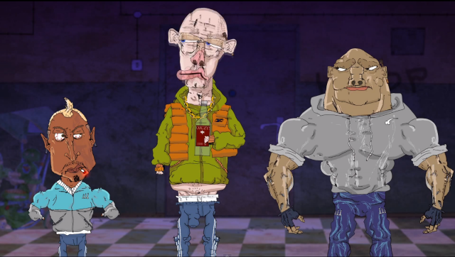 Najlepsze postacie z animacji Blok Ekipa