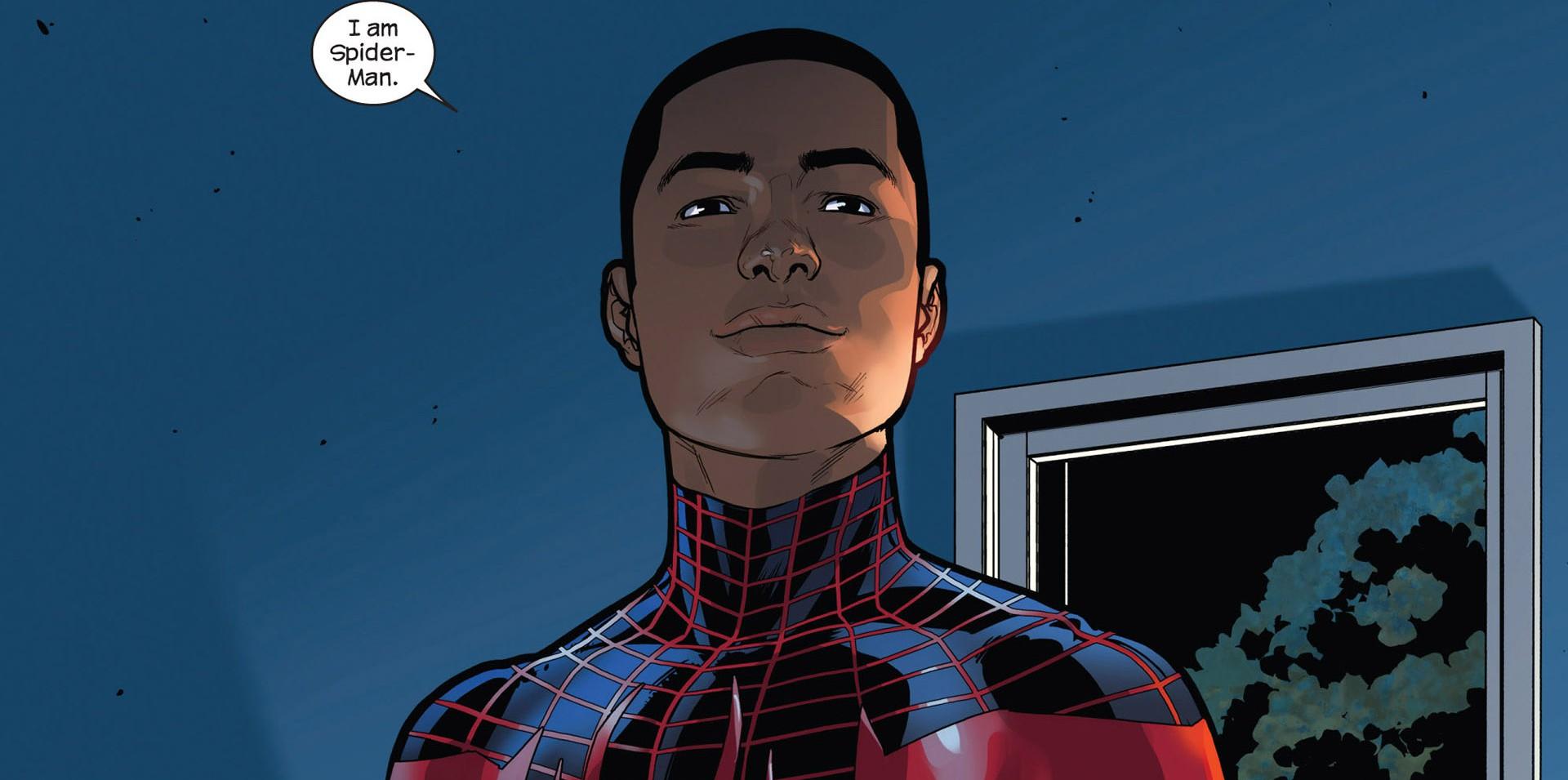 Oficjalnie: Czarnoskóry Spider-Man w kinowej animacji