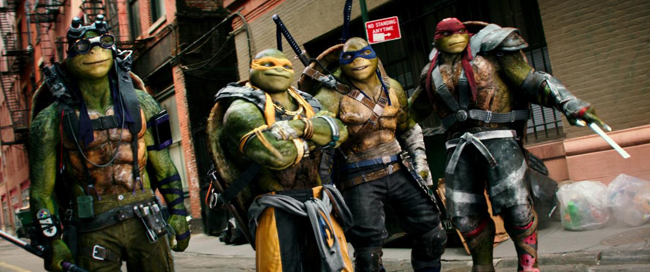 Wojownicze Żółwie Ninja powrócą. Będzie to reboot