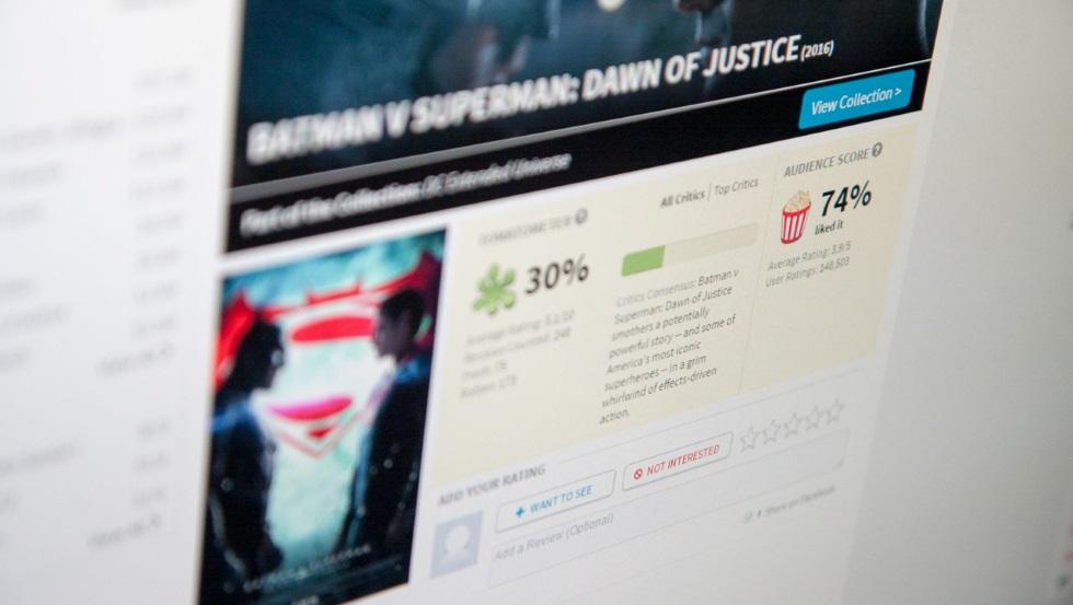 Batman v Superman kontra krytycy filmowi
