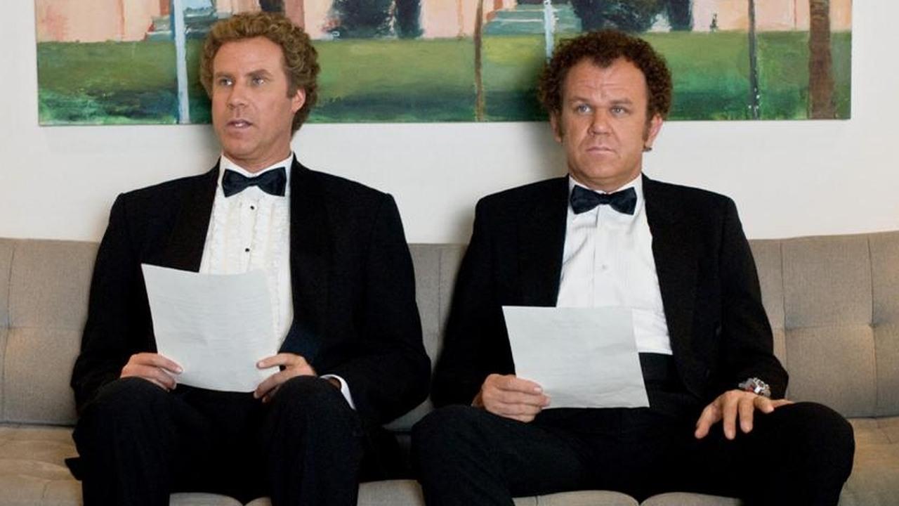 Will Ferrell i John C. Reilly jako Sherlock Holmes i doktor Watson