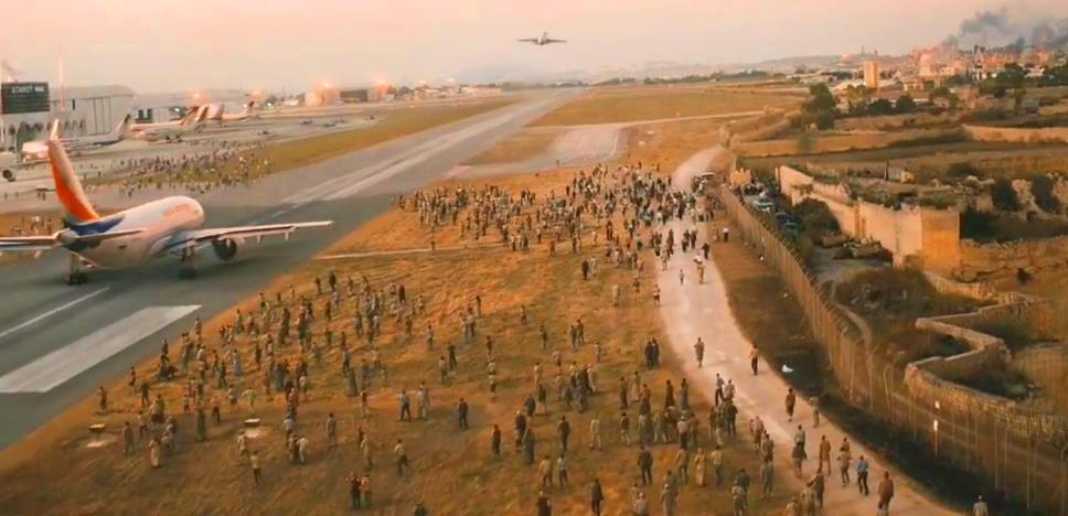 Katastrofy samolotowe w filmach