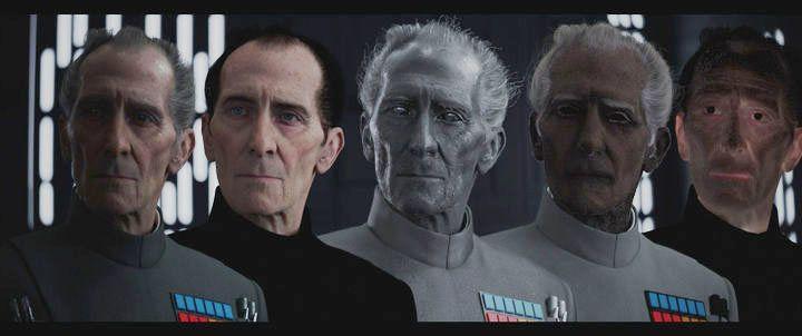 Gwiezdne Wojny - Tarkin może pojawić się w prequelu Łotra 1