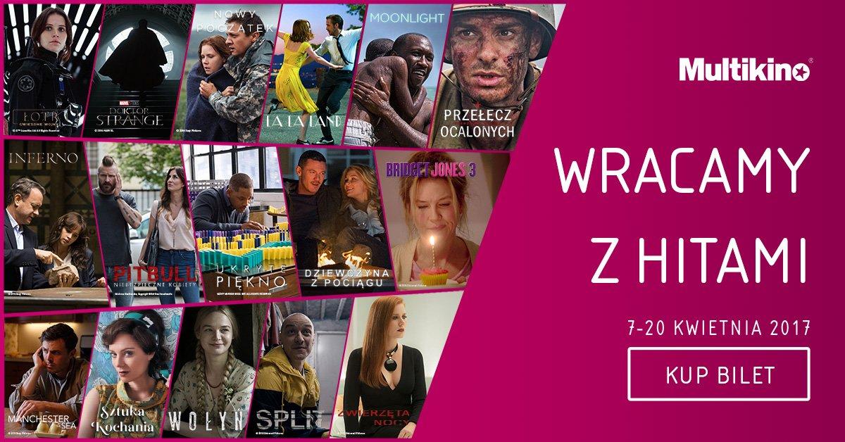 Łotr 1. Gwiezdne wojny – historie czy La La Land – filmowe hity ponownie w Multikinie