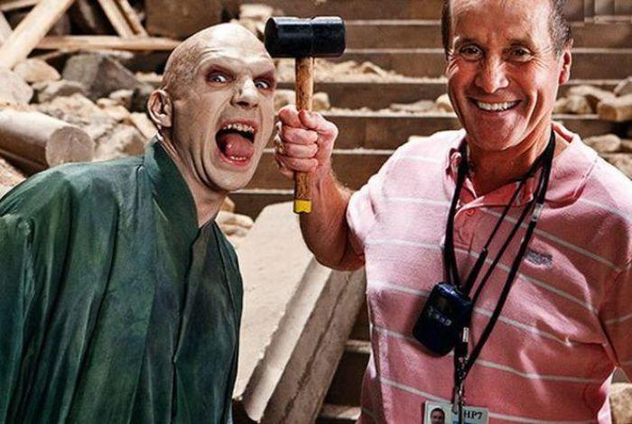 Powrót do przeszłości: Zobacz zdjęcia z planu serii Harry Potter