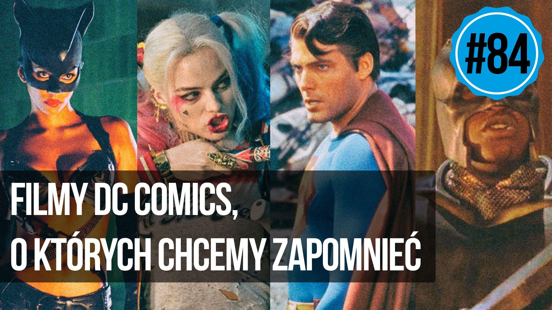 naEKRANACH #84 – Filmy DC, o których chcemy zapomnieć