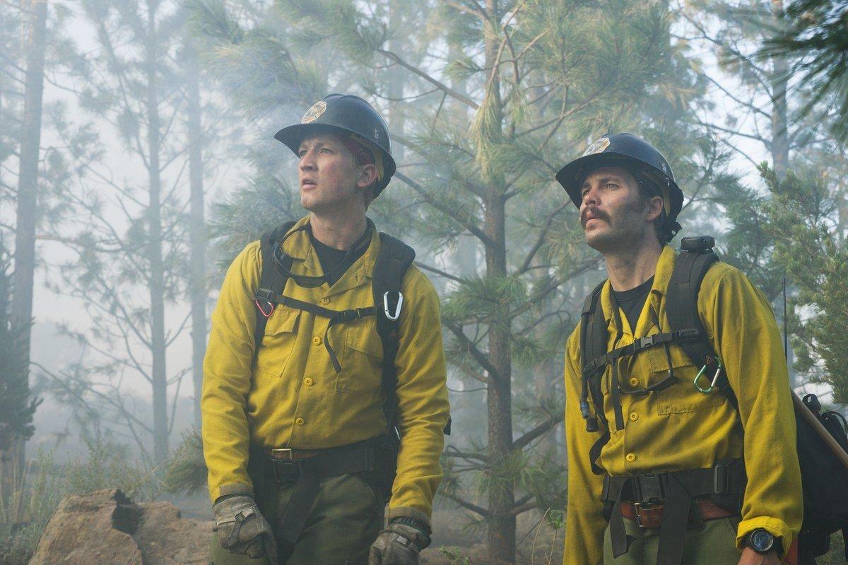 Strażacy w obliczu wielkiego pożaru. Pierwszy zwiastun dramatu Only the Brave