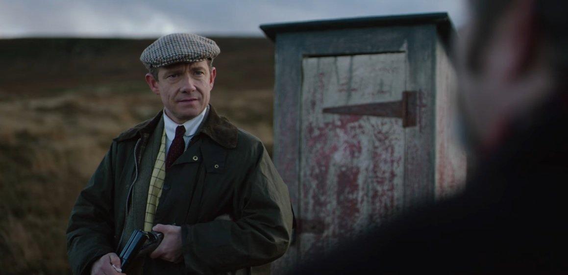 Martin Freeman w brytyjskim horrorze. Klimatyczne teasery Ghost Stories