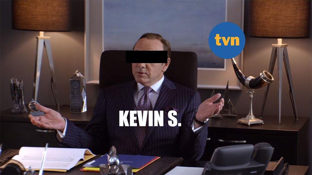 Kevin Spacey w TVN jest już Kevinem S.