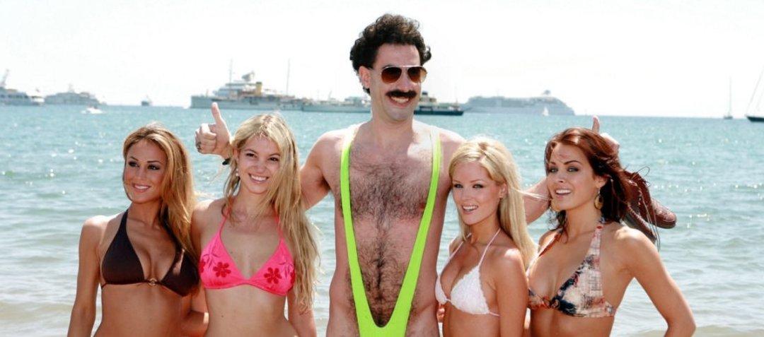 Sacha Baron Cohen zapłaci grzywnę za turystów w strojach Borata