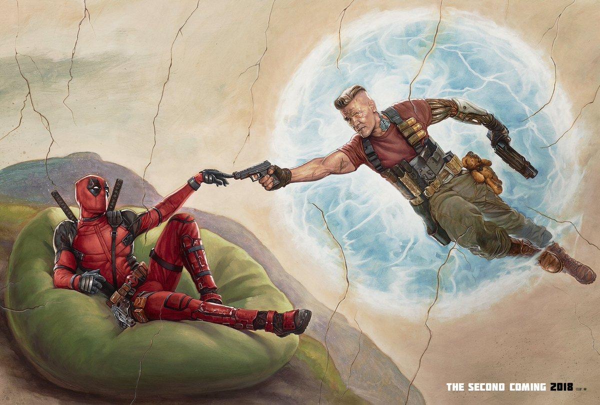 Nowy plakat Deadpoola 2 nawiązuje do Flashdance z lat 80