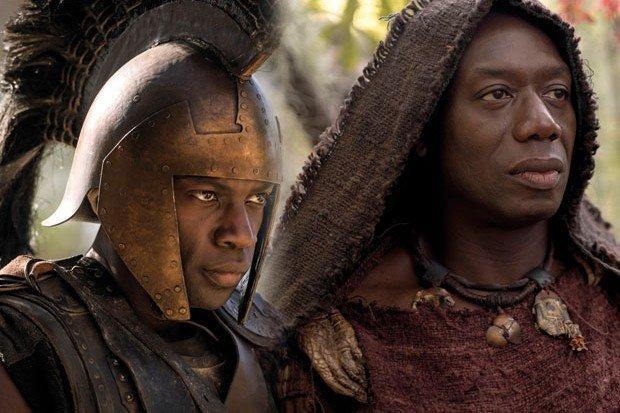 Czy serialowy Achilles może być czarny? Historyk twierdzi, że tak