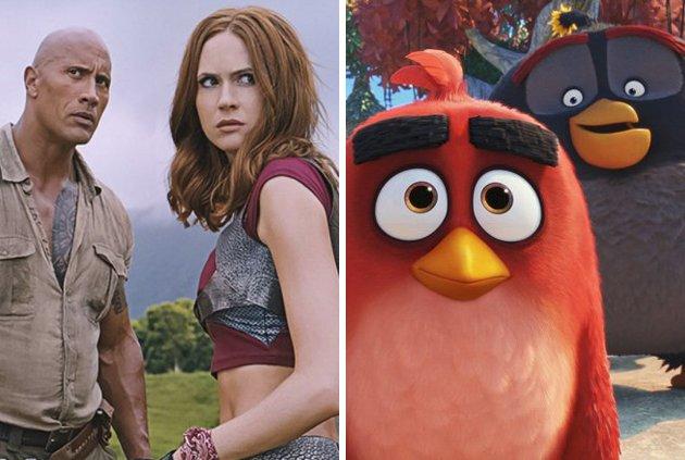 Sequel Jumanji i Angry Birds 2 mają już datę premiery