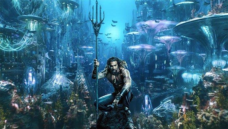 Aquaman – James Cameron chwali film DC. Ma jednak kilka uwag
