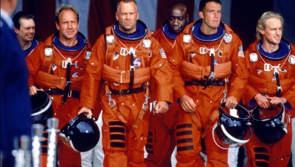 Powrót do przeszłości: zobacz zdjęcia z planu filmu Armageddon