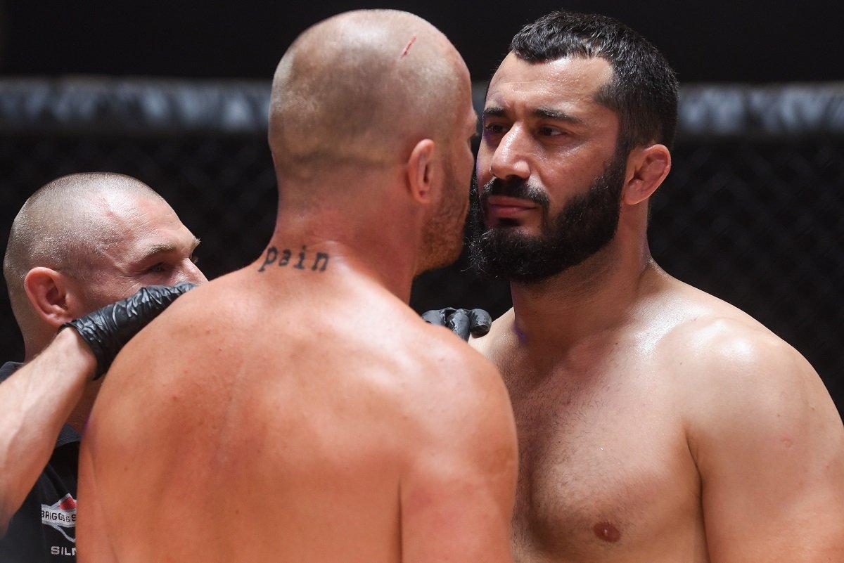 MMA w polskim kinie. Zdjęcia z filmu Underdog z Khalidovem i Lubosem