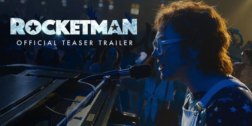 Taron Egerton jako Sir Elton John. Zwiastun Rocketman