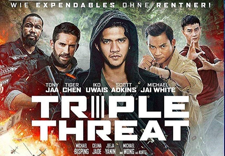 Triple Threat – nowy zwiastun. Adkins i wielkie gwiazdy kina kopanego!