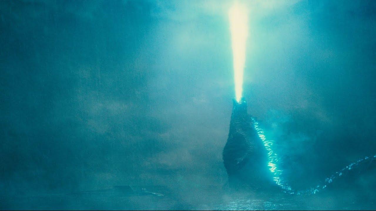 Godzilla 2 - Król Potworów płynie do legowiska. Szkic koncepcyjny