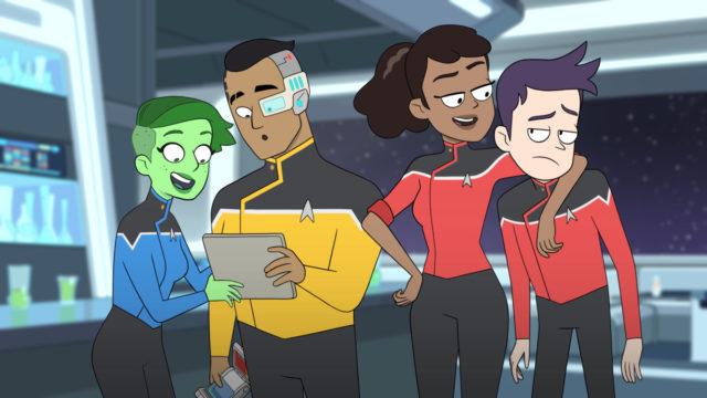 Star Trek: Lower Decks - w jakim okresie uniwersum rozgrywa się historia serialu?
