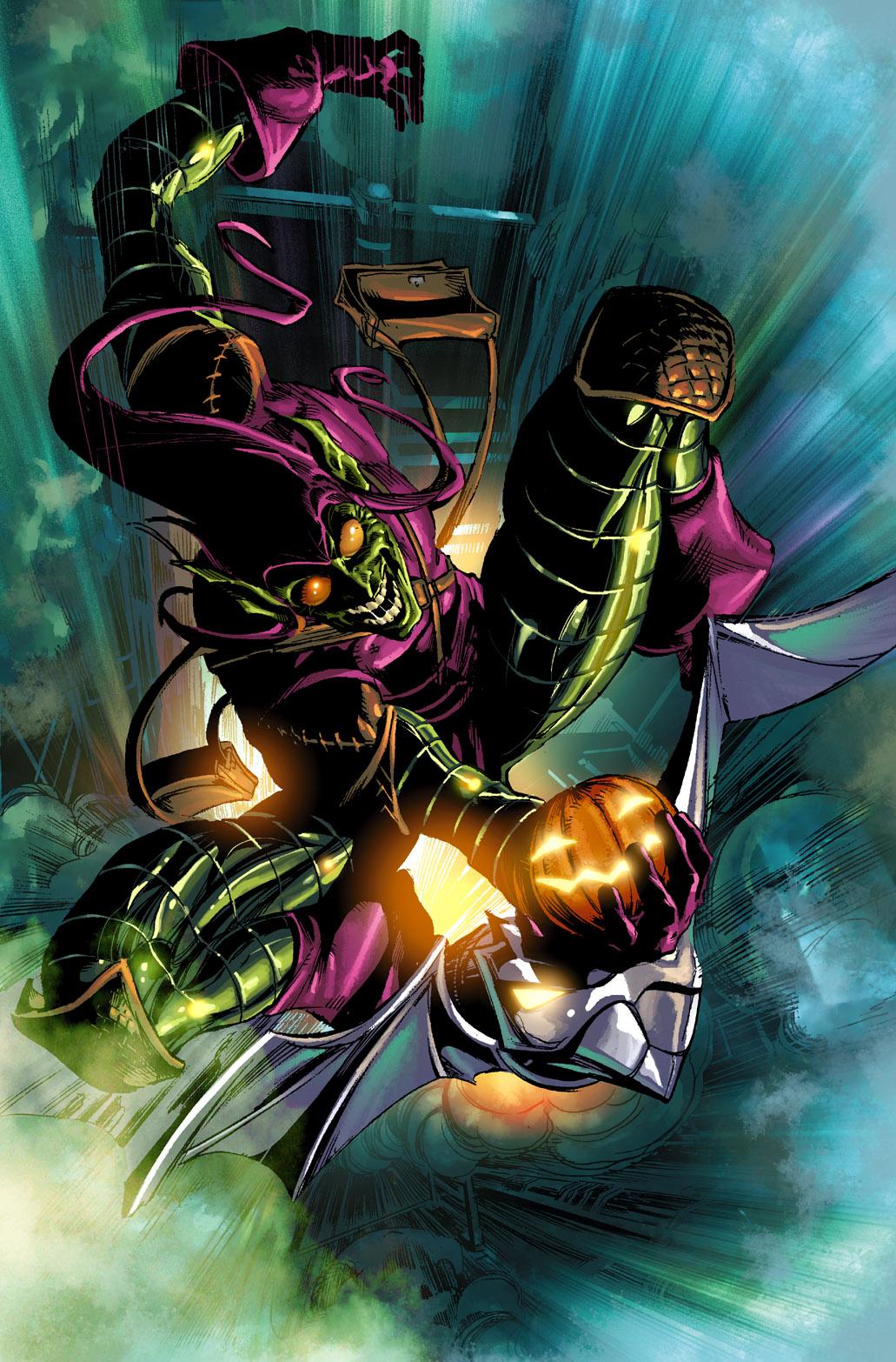Spider-Man - Matthew McConaughey jako Green Goblin na fanowskiej grafice
