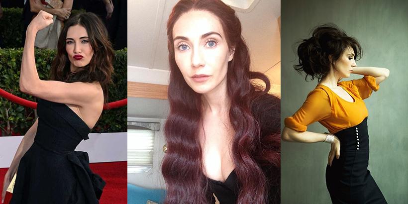 Carice van Houten ma dziś urodziny. Wszystkiego najlepszego, Melisandre!