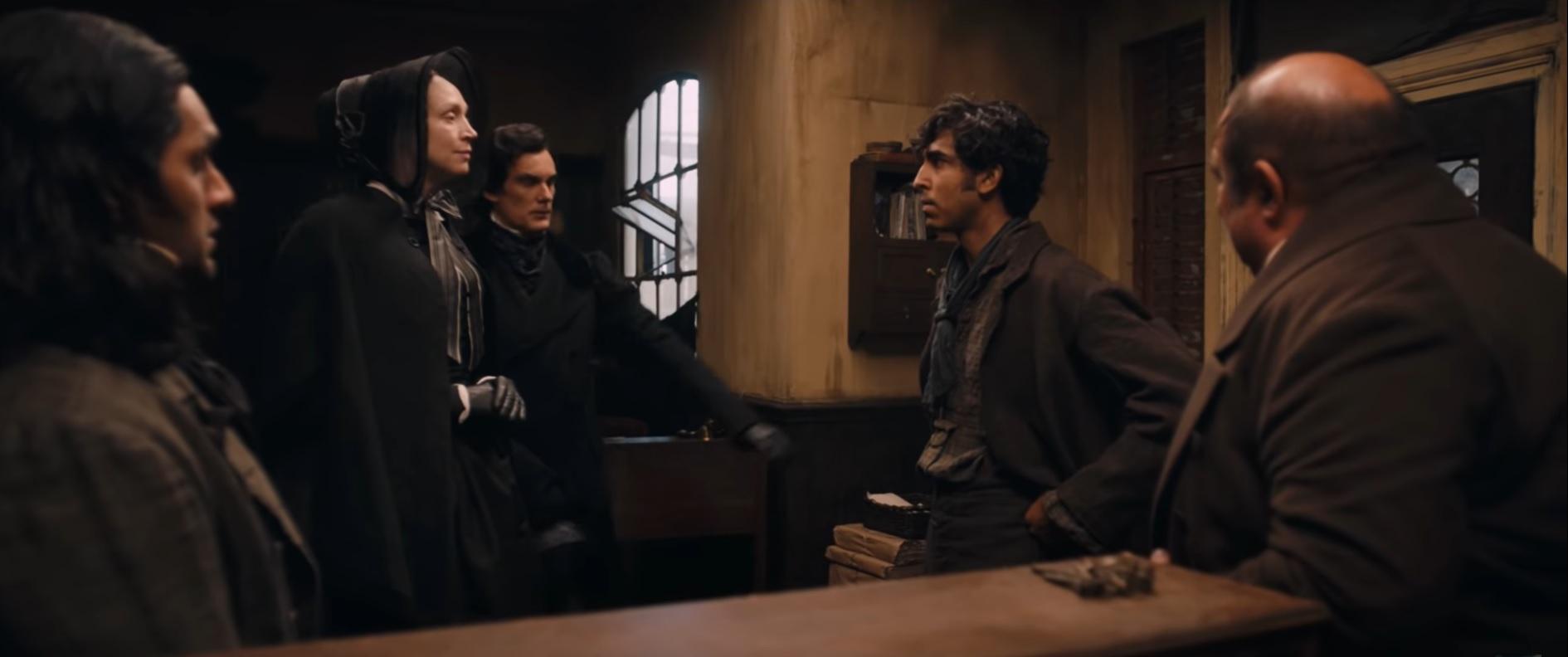The Personal History of David Copperfield - zwiastun filmu. Za sterami twórca Figurantki