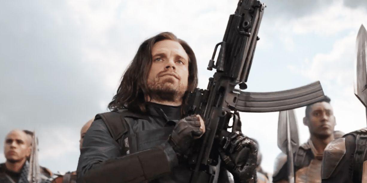 The Falcon and The Winter Soldier - lepsze spojrzenie na nowy strój Bucky'ego