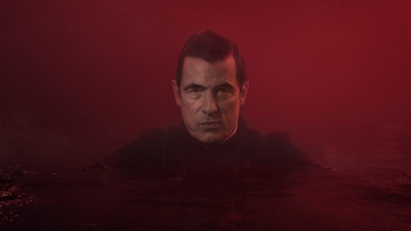 Drakula - BBC chwali się promocją serialu w Londynie. Zdjęcia nietypowego billboardu