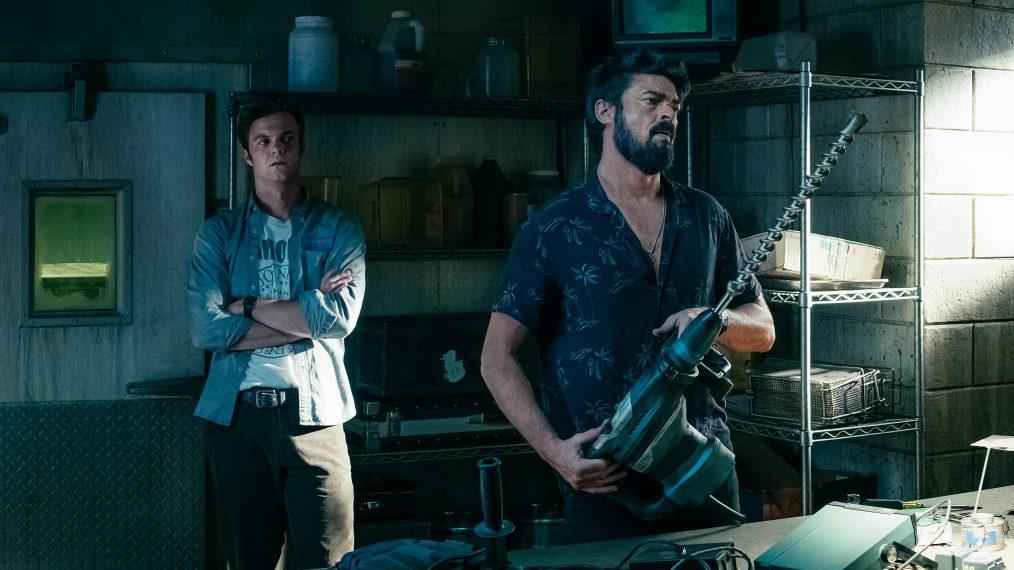 The Boys - Billy Rzeźnik i jego ekipa na plakacie 2. sezonu serialu