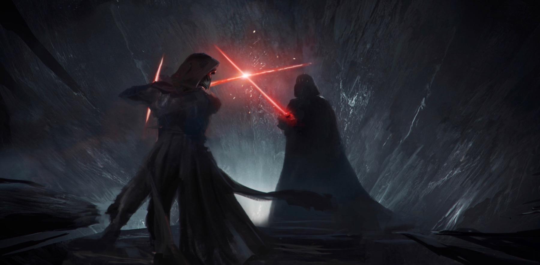 Star Wars 9 - szkice z wizji niedoszłego reżysera. Tak mogła wyglądać największa bitwa Gwiezdnej Sagi
