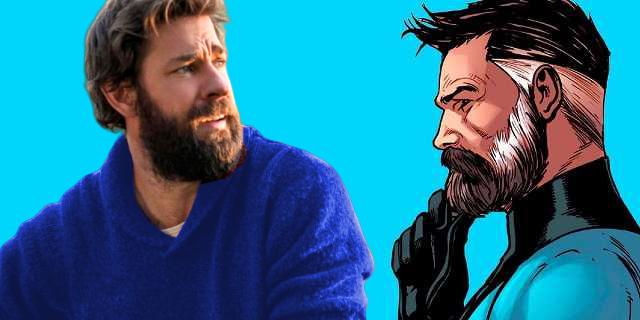 John Krasinski chciałby porozmawiać z Marvelem o roli Pana Fantastycznego w MCU