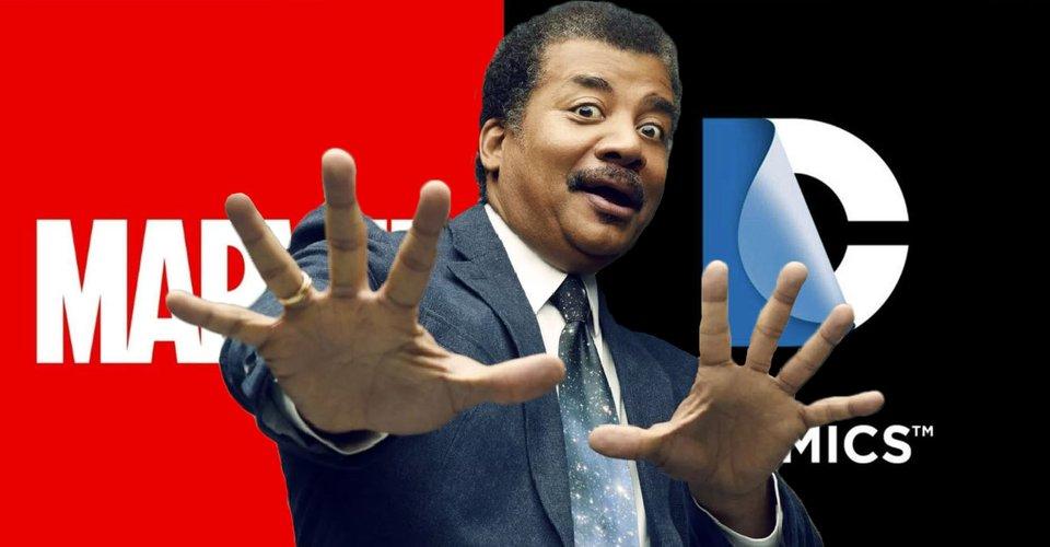 Marvel jest lepszy niż DC jeśli chodzi o aspekty naukowe - tak twierdzi deGrasse Tyson
