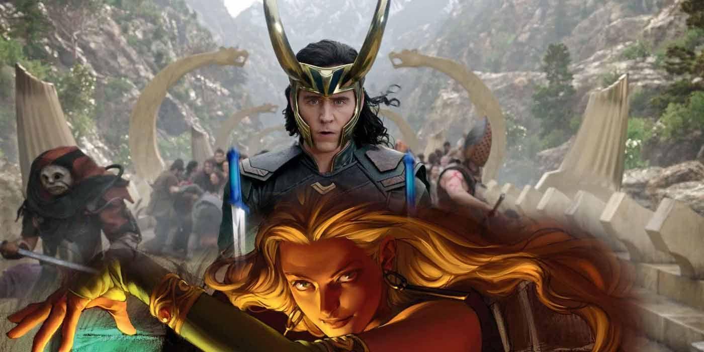 Loki - żeńska wersja głównego bohatera i zaskakujący złoczyńcy. Materiały z planu