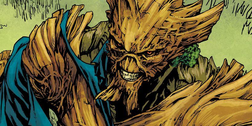 Potwór z bagien - złoczyńca 2. sezonu na planie. Świetny kostium i charakteryzacja [WIDEO]