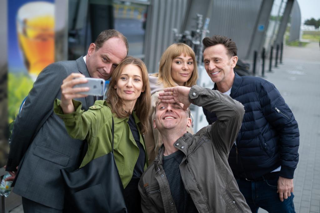 Usta Usta - zdjęcia z planu 4. sezonu