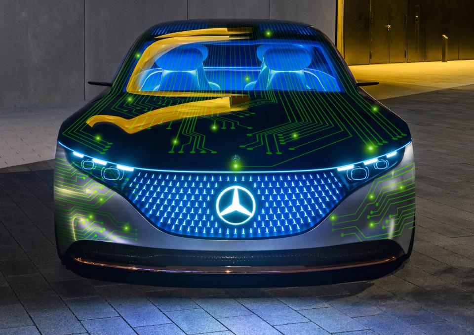 NVIDIA we współpracy z Mercedesem stworzy komputer pokładowy przyszłości