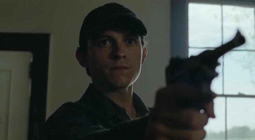 Diabeł wcielony - zwiastun filmu Netflixa z Tomem Hollandem i Robertem Pattinsonem
