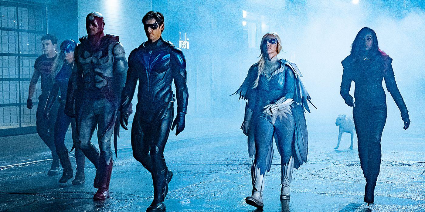 Titans - 3. sezon pełen nowych postaci. Wśród nich Strach na Wróble; co z Red Hoodem?