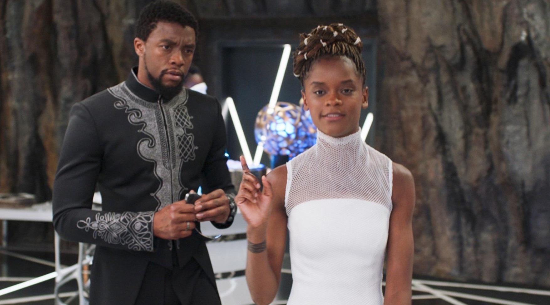 Letitia Wright uhonorowała Chadwicka Bosemana wzruszającym wideo