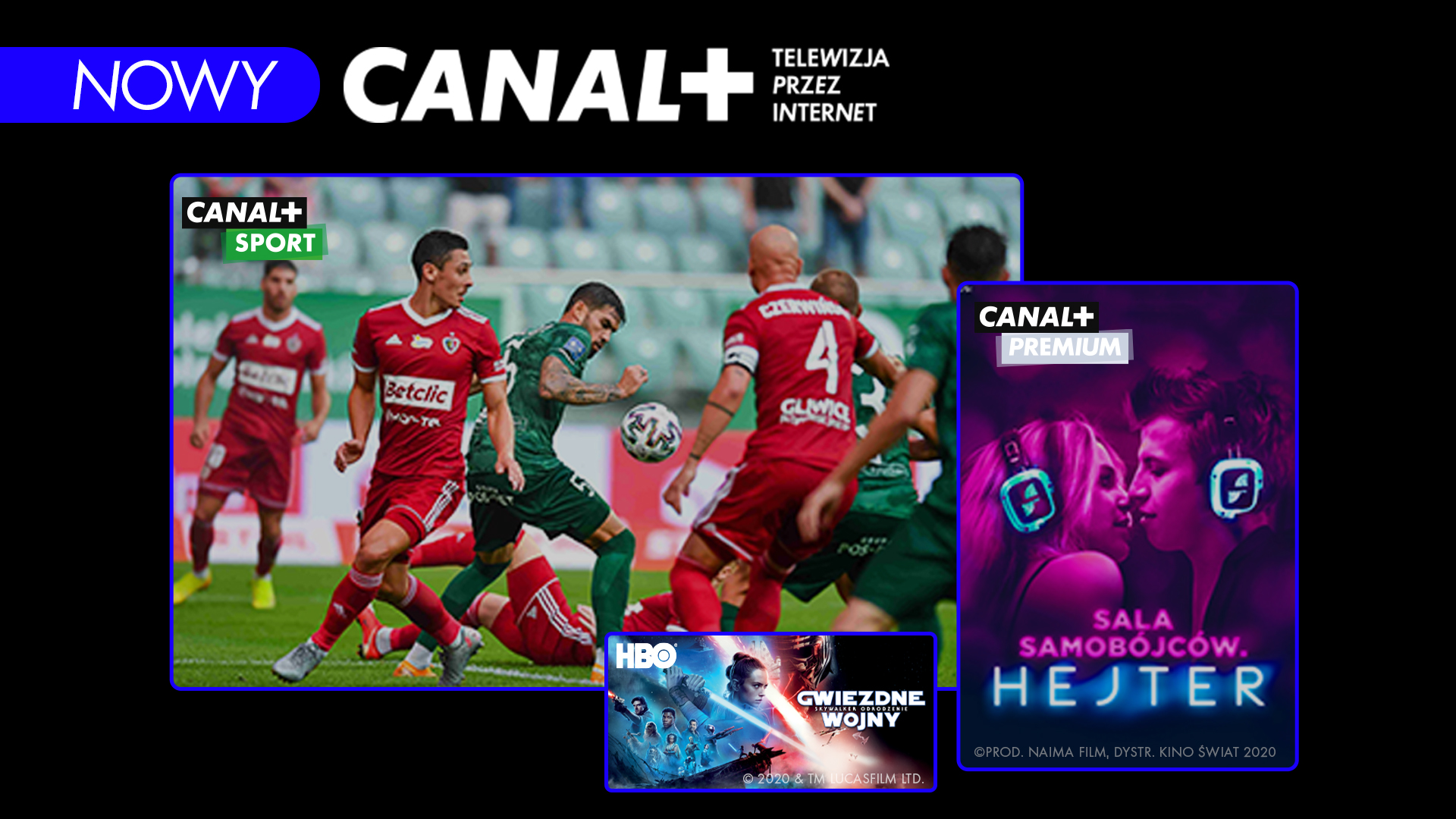 CANAL+ telewizja przez internet dostępna dla użytkowników oferty satelitarnej CANAL+