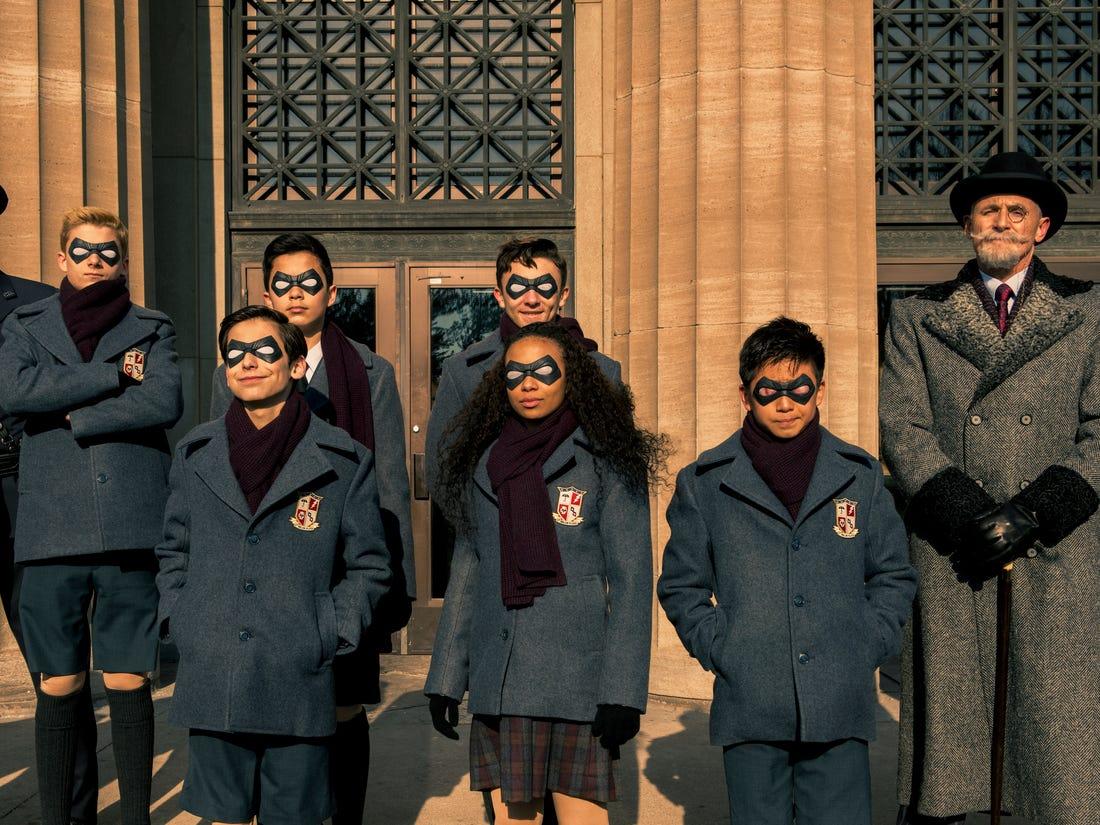 The Umbrella Academy - rozpoczęto zdjęcia do 3. sezonu serialu. Nowe logo produkcji