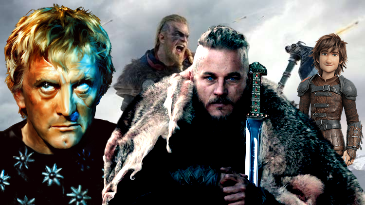 Wikingów podróż przez Anglię i popkulturę