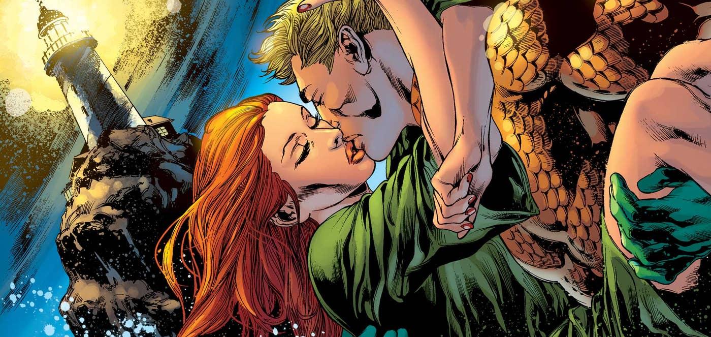 Aquaman się żeni! Szykujcie garnitury i sukienki - na ślub i Wy macie zaproszenie